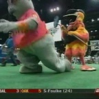 mascot homerun high